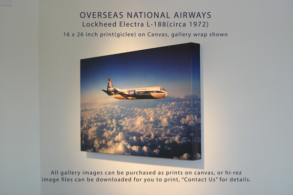 Overseas National Airways Lockheed Electra L-188
